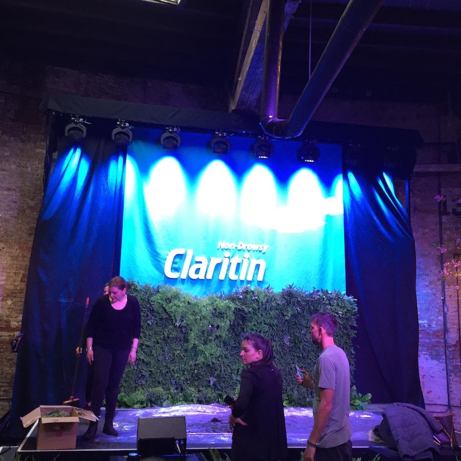 Claratin Kick Off Gallery