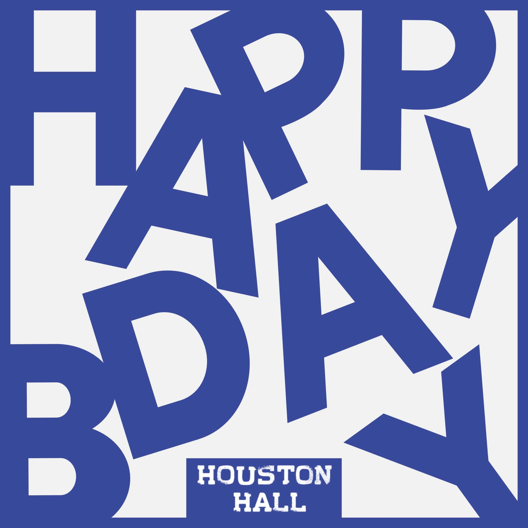 Houston Hall Birthday Parties