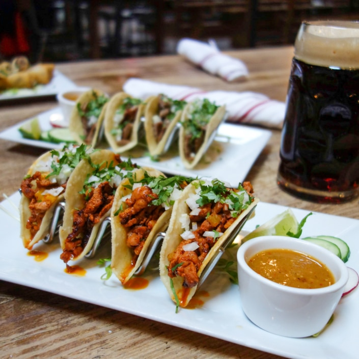 Houston Hall Tacos