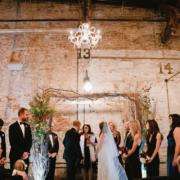 beer hall wedding