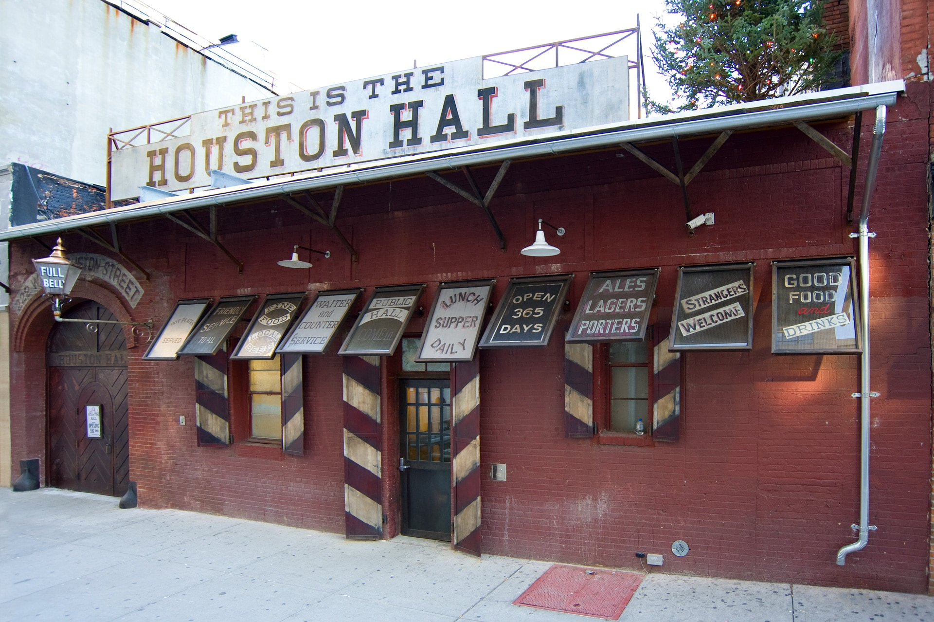 Houston Hall Beer Hall